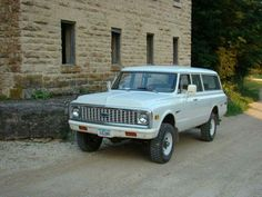 1972 Chevrolet Suburban K20.