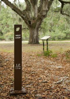 Environmental Campus Wayfinding | College of Charleston | Charleston, SC | Ayers Saint Gross Signage Board, Park Signage, Environmental Graphic Design, Environmental Graphics, Parking Design, Signage Design, Landscape Architecture, Landscape Design, Wayfinding Signs