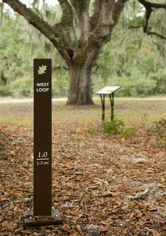 Environmental Campus Wayfinding | College of Charleston | Charleston, SC | Ayers Saint Gross