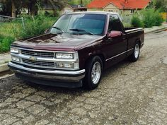 Page Show lowered trucks The 1988 - 1998 Chevy & GMC Pickups Message Board Obs Truck, Gm Trucks, Lifted Trucks, Pickup Trucks, Pickup Camper, Dually Trucks, 1998 Chevy Silverado, Silverado 1500, Chevy 4x4