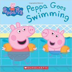 Peppa Goes Swimming (Peppa Pig): Scholastic, Eone: 9780545834919: AmazonSmile: Books