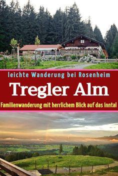 Die Tregler-Alm ist der Inbegriff einer Familienwanderung im Raum Rosenheim, in Bad Feilnbach. Die Alm ist für ihren herrlichen Blick über das Inntal bekannt. Ein schöner Aufstieg führt über den Deisenried-Forstweg, in gemütlicher Gangart, in knapp einer Stunde zum Ziel. Dieser Weg ist auch mit dem Kinderwagen geeignet. #wandernmitkindern #wandernmitkinderwagen #familienwanderung #bayernwandern #bayernausflugsziele #wandernwinter #inntalwandern #rosenheimmitkindern #tregleralm #alminntal Winter, Hiking With Kids
