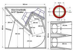 """BASS HORN четежи-1 (Plan""""s) 4x10er basshorn V2"""