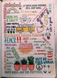 Easy Bullet Journal ideas to help you organize and accelerate your ambitious goals . - Easy Bullet Journal ideas to help you . Bullet Journal Notebook, Bullet Journal Ideas Pages, My Journal, Bullet Journal Inspiration, Journal Pages, Bullet Journals, Journal Ideas For Teens, Bullet Journal Decoration, Summer Journal
