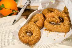 Olive oil orange cookies without kneading Orange Cookies, Sweet Cookies, Creme Brulee Cheesecake, Kai, Greek Desserts, Orange Oil, Easter Cookies, Sweets Recipes, Bagel