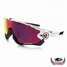 d904bd00a3 Fake Oakley Jawbreaker Polished White   Prizm Road Cheap Sunglasses