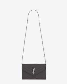 Saint Laurent Envelope Chain Wallet: discover the selection and shop online on YSL.com