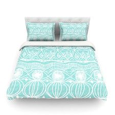 Beach Blanket Bingo by Catherine Holcombe Light Cotton Duvet Cover