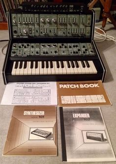 MATRIXSYNTH: Roland Synth System 100 - Model 101 & 102 PLUS Fro...