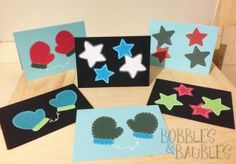 Do it yourself christmas cards by bobbles baubles crafts do it yourself christmas cards by bobbles baubles solutioingenieria Choice Image