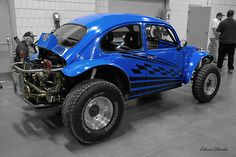 VW Beetle Blue Baja