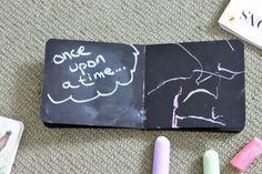 DIY chalkboard board book