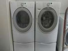 #WHIRLPOOL DUET #FRONTLOADER #WASHER AND ELECTRIC #DRYER SET WITH PEDESTALS Appliances - #Clearfield UT at Geebo