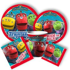 Chuggington Birthday Supplies