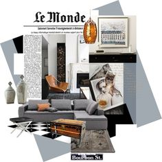 "Grey + Metalics | ""French Style"" by szaboesz on Polyvore"