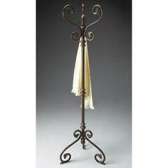 Have to have it. Butler Copper Finished Standing Coat Rack - $519 @hayneedle