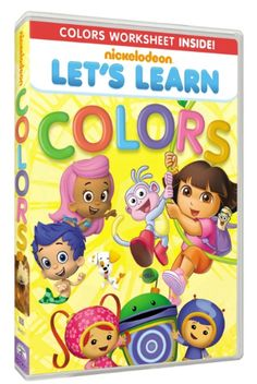 Let's Learn: Colors DVD {08/07} US/CAN