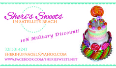 Sheri's Sweets For the LOVE of cake!!! 10% Military Discount