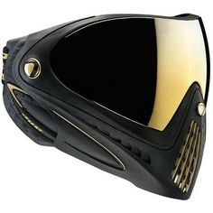 Dye i4 Paintball Goggle - Black with Gold by Dye. $134.95. The Dye i4 Black With Gold Paintball Goggle is a revolution in lightweight comfort! The smallest, lightest, lowest profile and best field of vision available.The Dye i4 Black With Gold Paintball Goggle has a revolutionary patent pending rapid lens changing system that allows you to change lenses in under 10 seconds. It is the quickest and easiest lens changing system in the sport today. The unique desig...