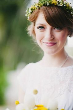 Natural Wedding Hair - Brisbane Wedding Weekly