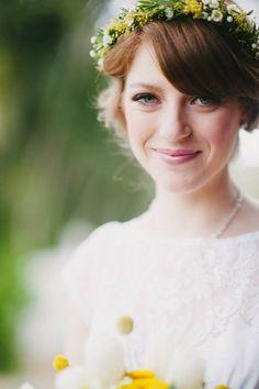 Natural Wedding Hair - Brisbane Wedding Weekly