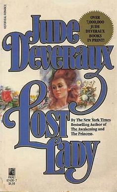 Lost Lady ~ Jude Deveraux original cover art by Harry Bennett
