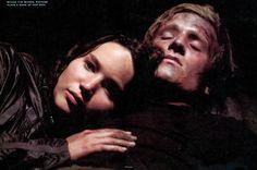 katniss everdeen and peeta mellark - jogos vorazes