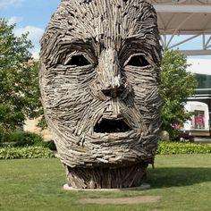 Sculpture in Dubuque