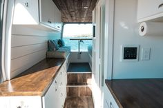 10 Changes We Made to Our Sprinter Van Conversion — Sara & Alex James - 40 Hours of Freedom Van Conversion Floor Plans, Van Conversion For Family, Van Conversion Solar, Van Conversion Bathroom, Sprinter Van Conversion, Camper Conversion, Diy Camper, Camper Van, Camper Life