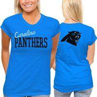 Carolina Panthers Womens Game Day T-Shirt  Fanatics  FanaticsWishList 617c97dcb