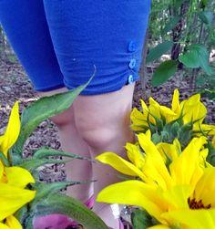 Don't throw away your holey leggings! Easily mend them - tutorial on www.threadridinghood.com