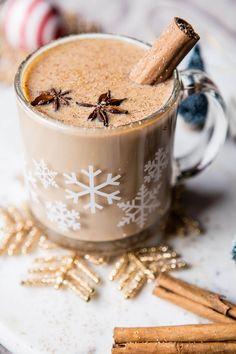 Santa's Nightcap | chai tea cocktail with bourbon | halfbakedharvest.com @hbharvest