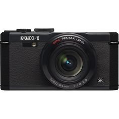 Pentax MX-1 12 MP Black Digital Camera with 4x Optical Image Stabilized Zoom and 3-Inch LCD Screen - List price: $399.95 Price: $240.00 Saving: $159.95 (40%)