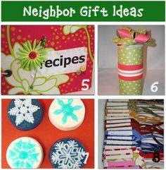 Neighbor gift ideas . . . .