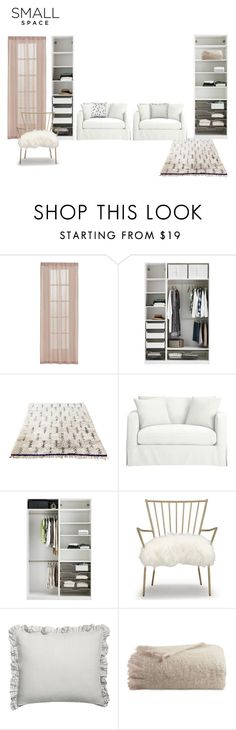 """Sin título #205"" by juliameri ❤ liked on Polyvore featuring interior, interiors, interior design, home, home decor, interior decorating, Crate and Barrel, Mitchell Gold + Bob Williams, H&M and contestentry"