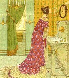 """Take the Romanian tale, """"The Magic Mirror"""": W.C.Drupsteen illustrator.    W C Drupsteen"""