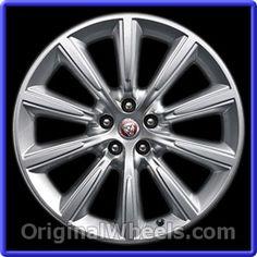 Jaguar F-Type 2014 Wheels & Rims Hollander #59907B #Jaguar #FType #JaguarFType #2014 #Wheels #Rims #Stock #Factory #Original #OEM #OE #Steel #Alloy #Used