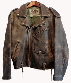 AVIREX BLACK LEATHER DOUBLE RIDER JACKET MEN'S SIZE S  Price: $220.00                                                                                                                                                                                 More