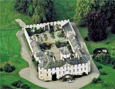 Foulis Castle in Scotland, home of the Munro clan