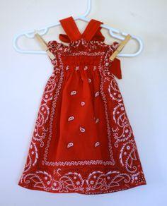 diy bandana shirt | Sewing for my little girl