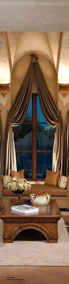 12 Best Tuscan Curtains Images Curtains House Beautiful House