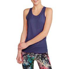 2a67095c9b533 Danskin Now Women s Active Performance Mesh Tank - Walmart.com Workout  Attire