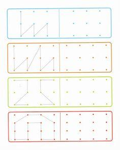 In eerste instantie alleen maar kleurplaten maar wanneer je behoorlijk verder naar beneden scrolt komen er vele motoriek werkbladen.