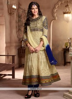 http://www.sareesaga.in/salwar-kameez/blooming-beige-georgette-anarkali-salwar-suit-10713 Work:Resham Work Style:Anarkali Suit Shipping Time:7 to 9 Days Occasion:Festival Reception Fabric:Faux Georgette Colour:Beige  For Inquiry Or Any Query Related To Product,  Contact :- +91 9825192886