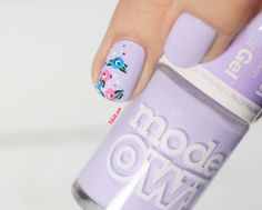 Lilac Sheen by Models Own Hyper Gel nails on http://pshiiit.com