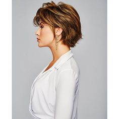 Over 60 Hairstyles, Haircuts For Medium Hair, Bobby Pin Hairstyles, Wig Hairstyles, Medium Hair Styles, Short Hair Styles, Hair Styles For Women Over 50, Layered Hairstyles, Older Women Hairstyles