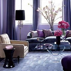 What Color Go Good with Purple for House? - Check It Out! | Purple ...