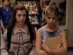 Willow Rosenberg and Buffy Summers Buffy The Vampire Slayer Season 1 Episode 3 The Witch