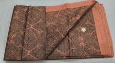 Vintage Amazing 100% Pure Real Silk Printed Sari Saree ~ Free Shipping #Unbranded