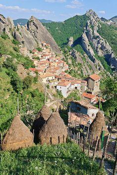 Village of Castelmezzano ~ Basilicata, Italy
